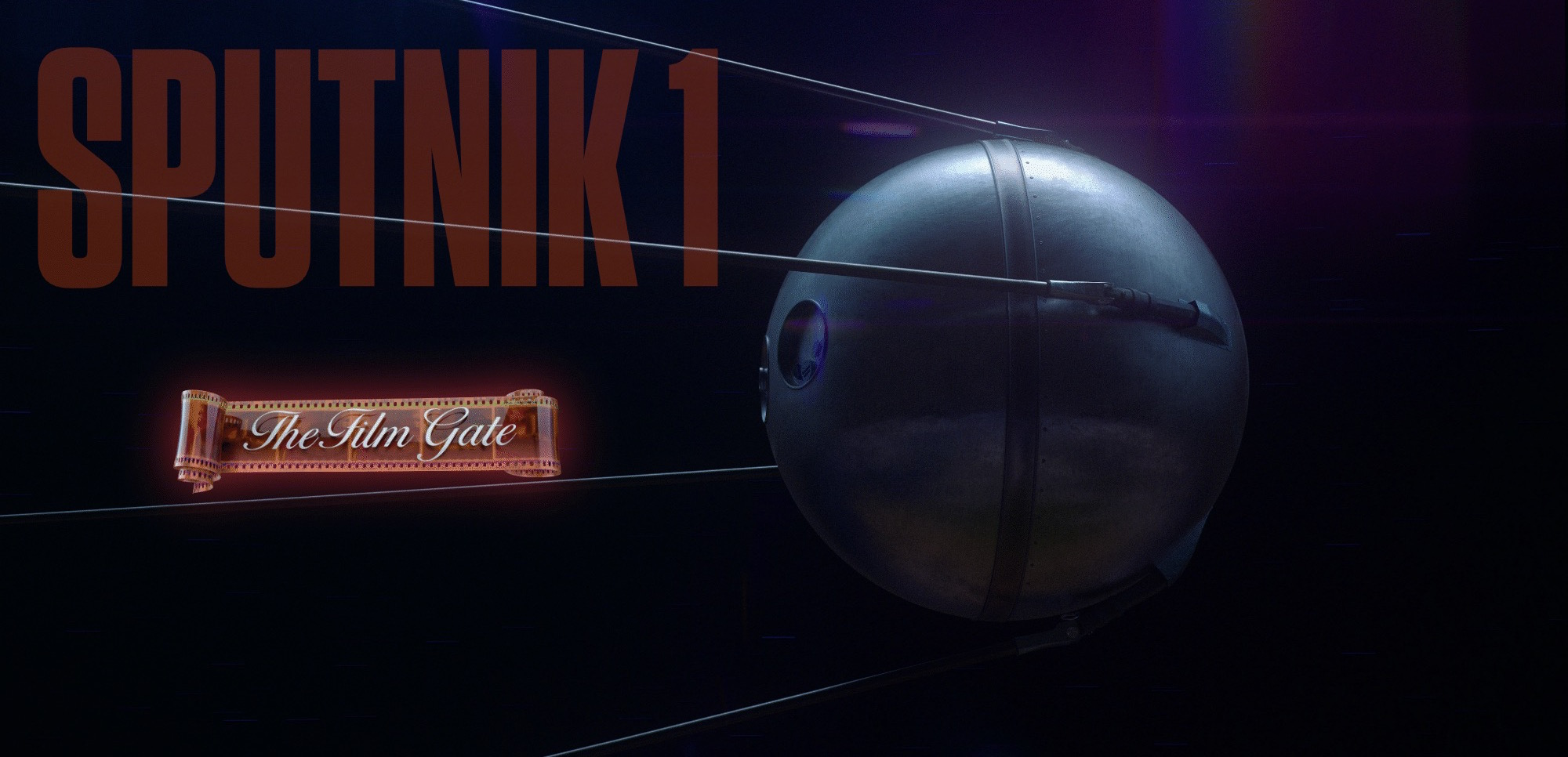 Sputnik Stock Footage Film Gate